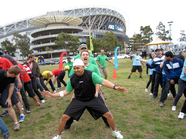 Sydney Olympic Park Corporate team building activities, games and events enjoyed by corporate groups