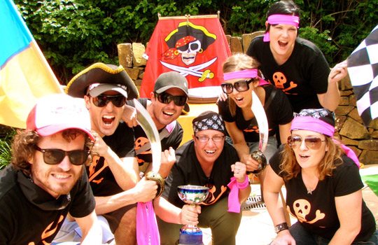Virgin Team Building Treasure Hunt Corporate group Activities find the best treasures on the beach along the coast