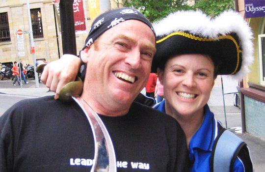 Treasure Hunts staff in The Rocks Sydney