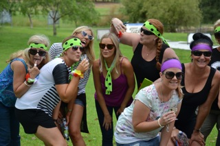 Wine Tasting Hunter Valley Hens Treasure Hunters playing games just for fun
