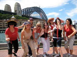 team building activity treasure hunters in Sydney have you in their sights and demand the treasure by Sydney Harbour Bridge