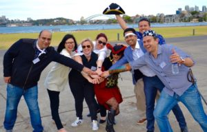 Ahoy for Treasure Hunting Team Building pirates fun in Sydney to Gold Coast