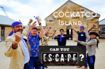 Escape Cockatoo Island Team Activities Treasure Hunt