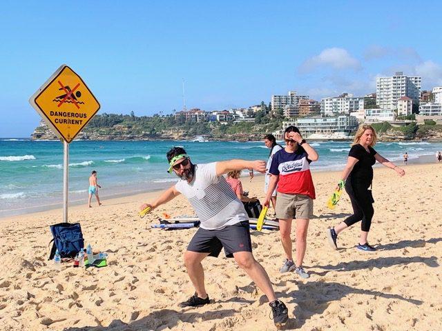 Bondi-Beach-Team-Building-Escape activities fo team building fun on Sydney Beaches